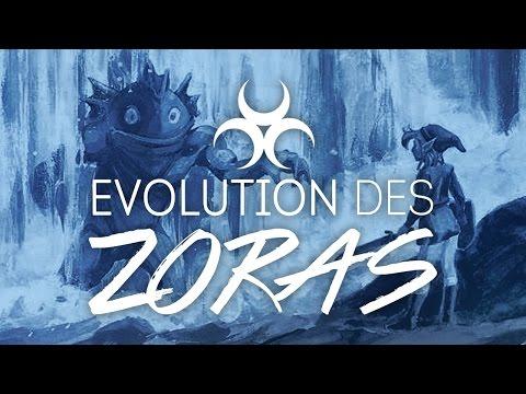 Théorie de l'évolution du peuple des Zoras