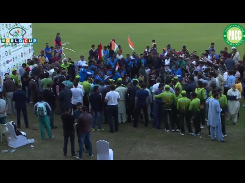 The Final Pakistan Vs India 5th Blind Cricket World Cup 2018 Sharjah Cricket Stadium 20012018
