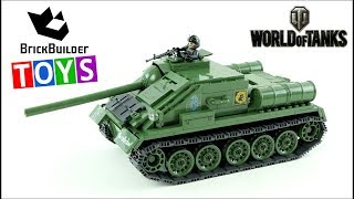 COBI World of Tanks SU-85 - Brick Builder Toys - Lego Speed Build