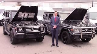 2018 Mercedes-Benz G550 vs G63 AMG Video Tour - Spencer