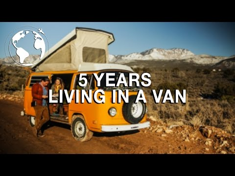 Couple Spends 5 Years Living in a Van