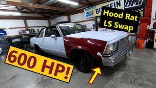 Download 600hp Ls Swapped G Body Malibu Hoodrat Hotrod Build