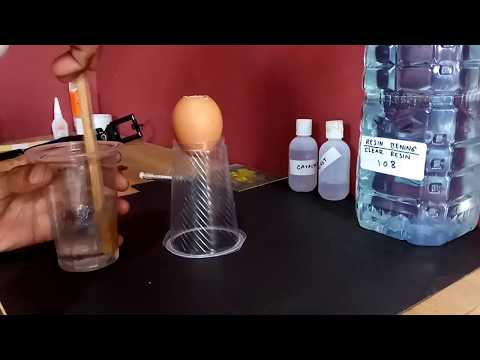 CREATIVE THINKING /// Resin and Egg