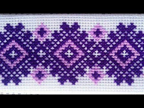 50 beautiful cross stitch design / dosuti border design / easy dosuti pattern