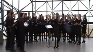 Oostburg Voice sings at the JFK Library Song Two
