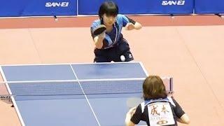 加藤杏華 × 成本綾海 1st Game (女子シングルス 6回戦) 全日本卓球選手...