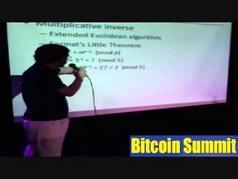"""""""Elliptic Curve Cryptography, the Foundation of Bitcoin"""" by Matt Whitlock - Bitcoin Summit"""