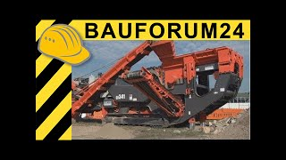 Sandvik Mobile Crusher QI341 Prisec Demonstration & Walkaround  Report recycling aktiv