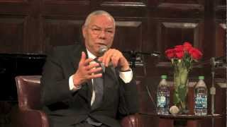 Colin Powell On Why He Did Not Run For President of the United States