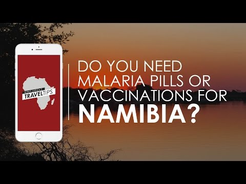 Do you need malaria pills/vaccinations for Namibia? Rhino Africa's Travel Tips