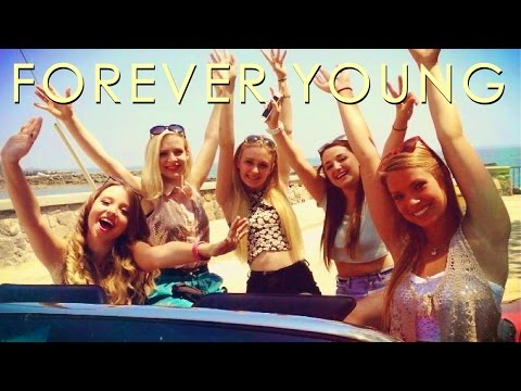 Ali Brustofski - Forever Young (Official Lyric Video) On Spotify & iTunes