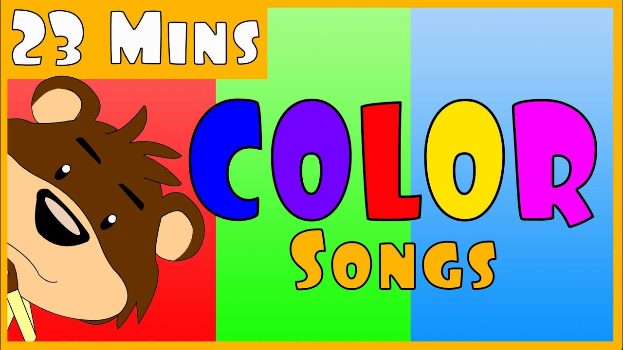 Color Songs Collection - Original Color Songs for Children (After ...