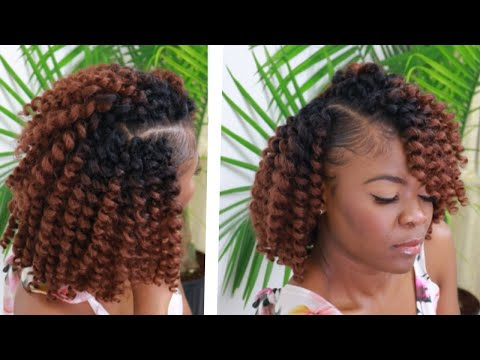NO CORNROWS | NO HAIR OUT | EASIEST WAY To Install CROCHET BRAIDS + Hair Giveaway