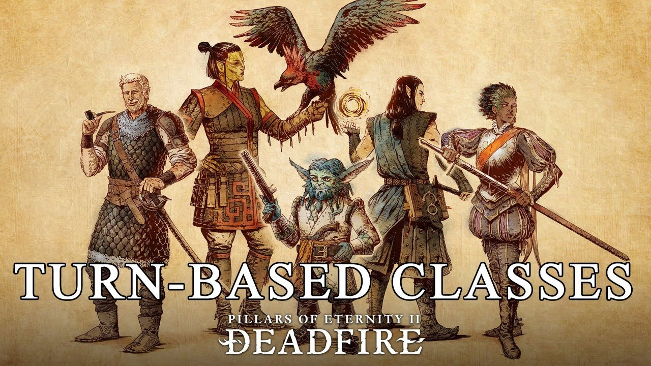 Pillars Of Eternity 2 Deadfire: Classes in Turn Based Combat