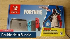 nintendo switch fortnite promotion double helix bundle 1 000 v bucks duration 23 05 - helix bundle fortnite code
