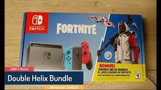 Nintendo Switch - Fortnite promotion - Double Helix Bundle - 1,000 V-Bucks