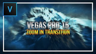 How to Create a Custom Stinger Transition AE Inspired - Tutorial | Sony Vegas Pro.