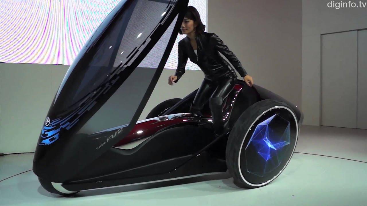 toyota concept cars fv2 motor tokyo jt