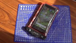 Гермочехол для телефона.  Обзор и тест