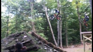 THIRD DEGREE BERMS S2E5 Tiny Girl VS Giant Gap Jumps - Fort Hill Proline Part 3