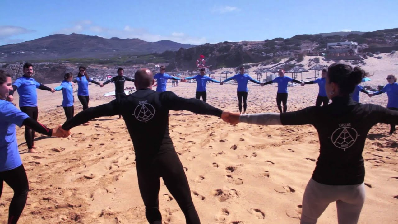 SiPN Activities - Team Building, Beach Games & Surf lesson - YouTube