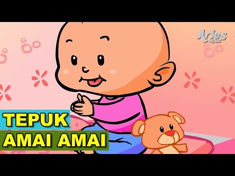 Alif & Mimi - Tepuk Amai Amai (Animasi 2D) Lagu Kanak