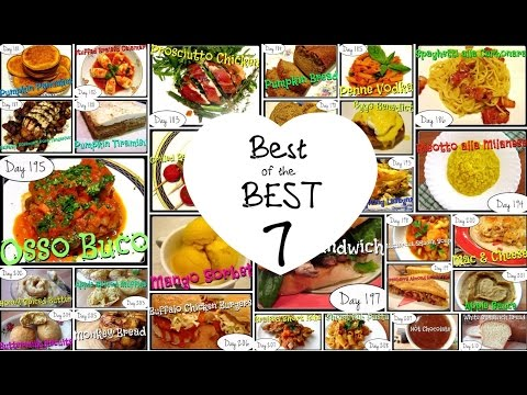 Best of the BEST 7 (Laura in the Kitchen Recipes Review) [Food Challenge: DAYS 181-210]