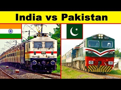 Indian Railways vs Pakistan Railways (2018 Edition)