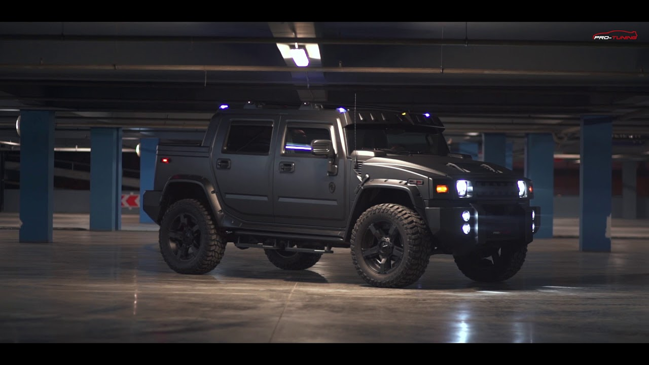 hummer h2 pickup truck pro tuning company. Black Bedroom Furniture Sets. Home Design Ideas
