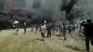 Gaza Jum'at kemarin, 6 April 2018
