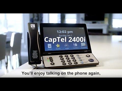 Hamilton CapTel 2400i Captioned Telephone HT758000300