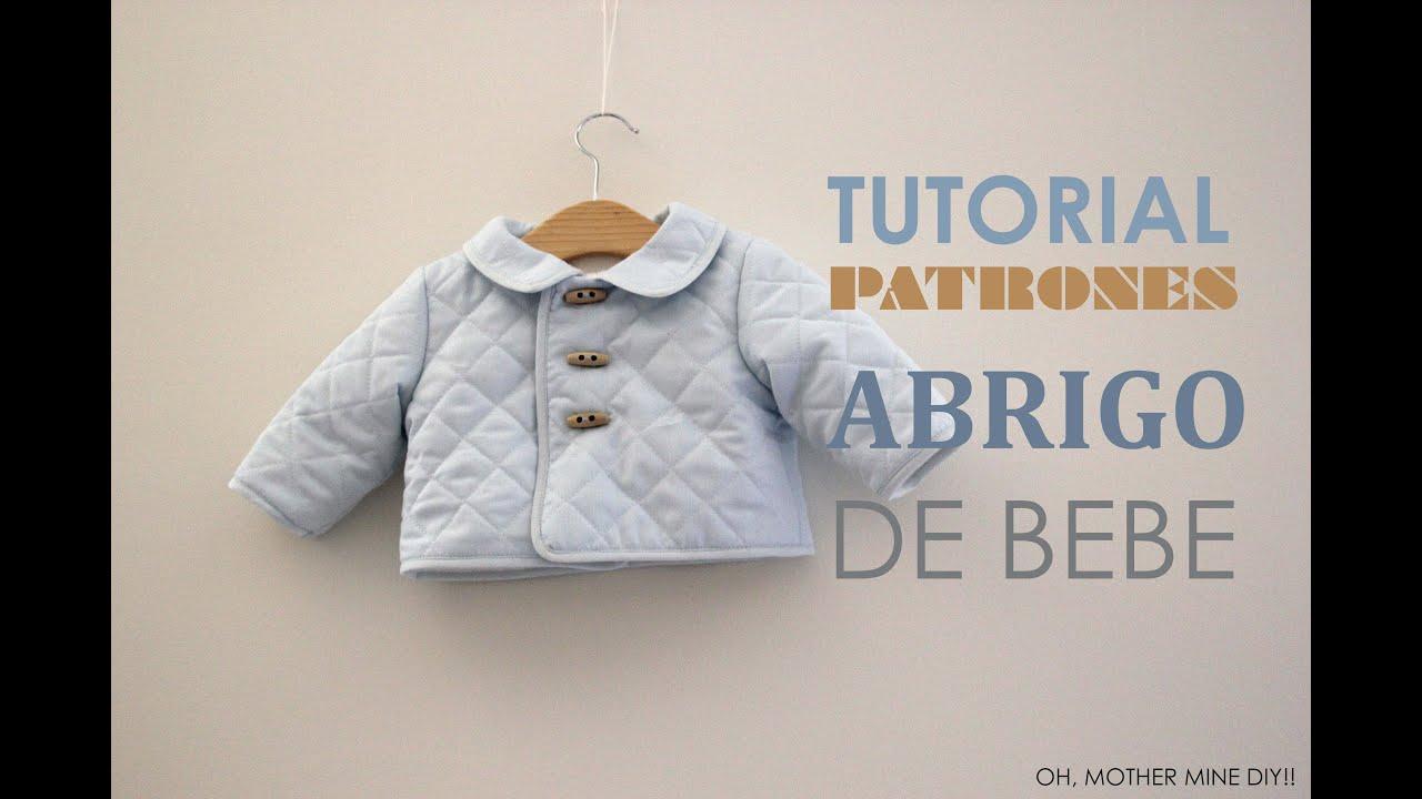 DIY Tutorial Abrigo de Bebe (Patrones gratis) - YouTube
