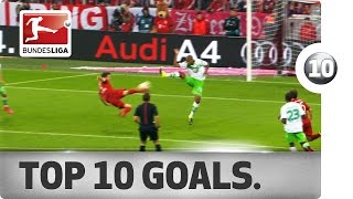 Top 10 goals so far - 2015/16