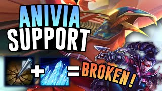 ANIVIA SUPPORT AND VAYNE ADC IS THE AMAZING NEW META! - League of Legends
