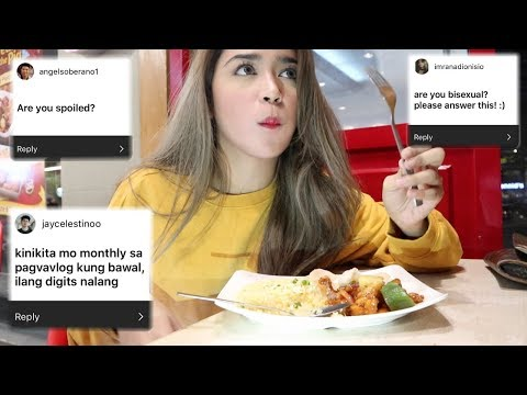 Q&A + CHOWKING FOODTRIP!!