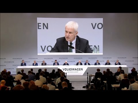 Volkswagen Group Annual Media Conference 2017 (English)