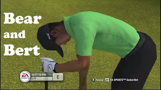 Tiger Woods PGA Tour 09 (Xbox 360) - Bear + Bert blind attempt (edited)