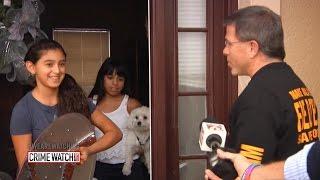 Girl Hiding in Closet Helps Cops Catch Burglars - Crime Watch Daily with Chris Hansen