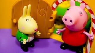 Свинка Пепа на русском без титров на весь экран. Истории игрушек для детей.