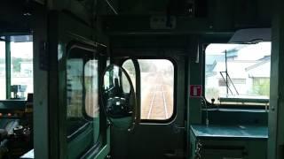終点 前面展望 氷見駅 JR西日本氷見線