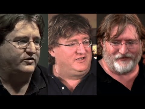 It's been 10 years since Half-Life 2: Episode 3 was announced. Here's Gabe Newell not talking about it.
