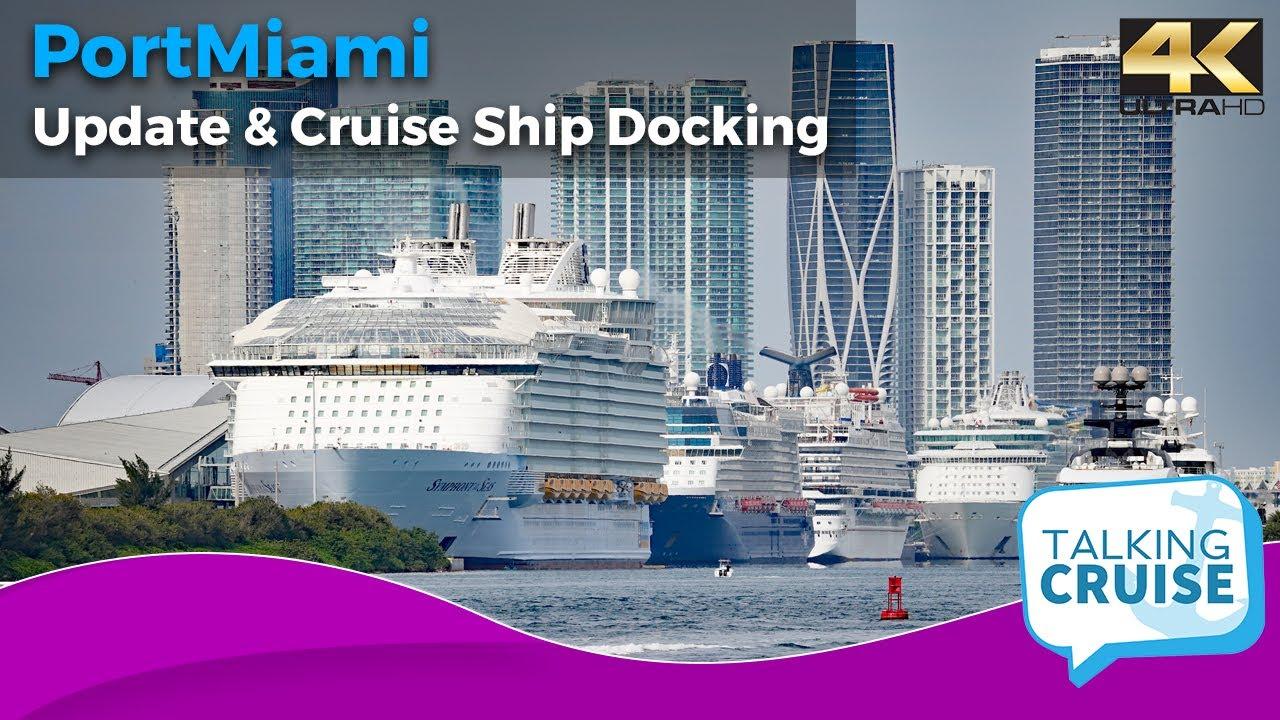Port Miami - Quick Update & Cruise Ship Docking (JAN 2021)