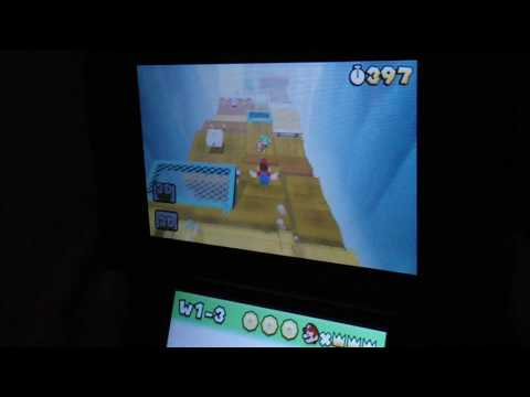 Super Mario 3D land world 1-3 normal Mario speedrun 23 seconds (377)