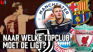 Status De Ligt: Welke Topclubs Liggen op Poleposition?