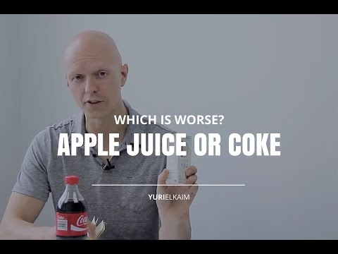 Is Apple Juice WORSE Than Coke?