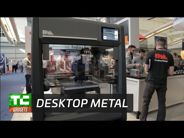 Desktop Metal's 3D printer makes metal manufacturing less messy