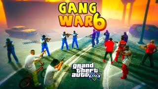 GTA 5 THUG LIFE #6 - GANG WAR BLOOD VS CRIPS BOYZ N THE HOOD | S3