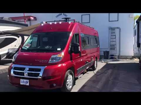 Picking up my new Winnebago Travato K at La Mesa RV in San Diego