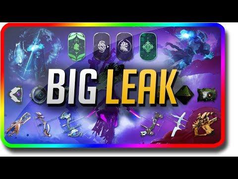 Destiny 2 - HUGE FORSAKEN LEAK (Destiny 2 Forsaken News or Dungeons, Gambit, Infamy, Story, Strikes) thumbnail