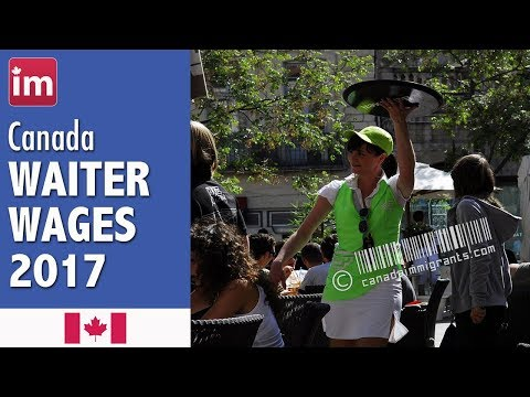 Waiter Waitress Salary in Canada | Jobs in Canada